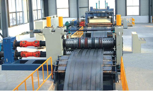 LCZN厚板数控高速开卷纵剪收卷生产