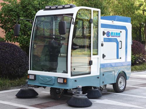 CD-K2100全封闭三轮自卸式扫地机